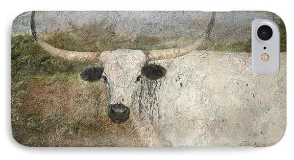 Texas Longhorn #1 IPhone Case by Betty LaRue