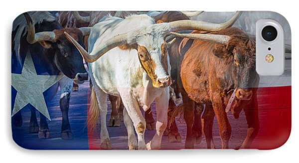 Texas Longhorns IPhone Case by Inge Johnsson