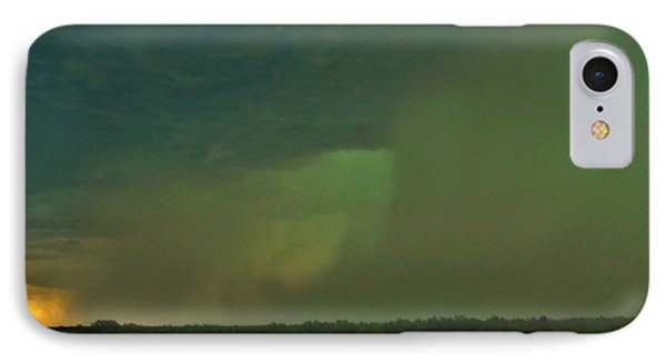 IPhone Case featuring the photograph Texas Microburst by Ed Sweeney