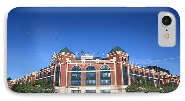 Texas Rangers Ballpark In Arlington IPhone Case