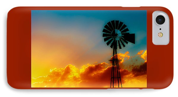 Texas Sunrise IPhone Case by Darryl Dalton