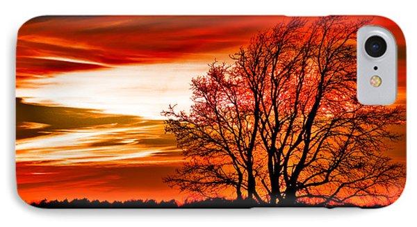 Texas Sunset Phone Case by Darryl Dalton