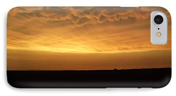 IPhone Case featuring the photograph Texas Sunset by Ed Sweeney