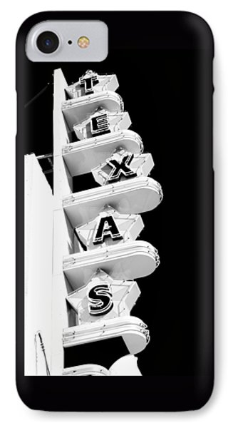 IPhone Case featuring the photograph Texas Theater by Darryl Dalton