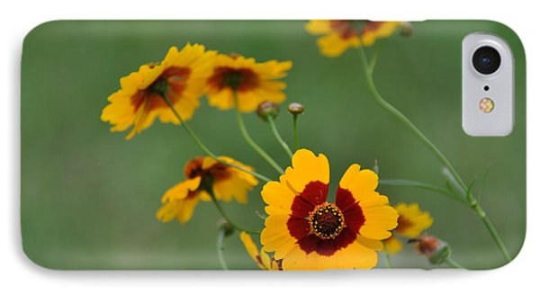 Texas Wildflower IPhone Case