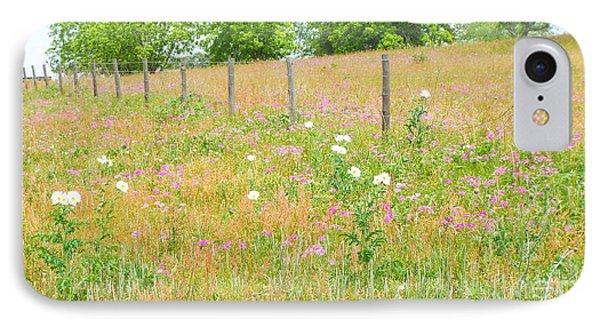 Texas Wildflowers II IPhone Case by Audrey Van Tassell