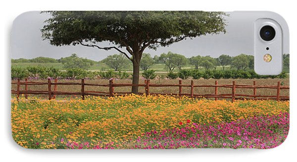 Texas Wildflowers IPhone Case by Jerry Bunger