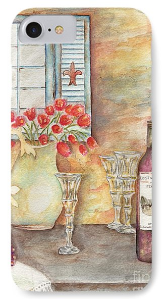 Texas Wine IPhone Case by Tamyra Crossley