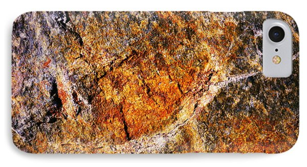 Texture Stone Plate IPhone Case by Jozef Jankola