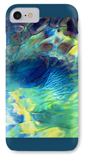Textured Abstract 5 IPhone Case