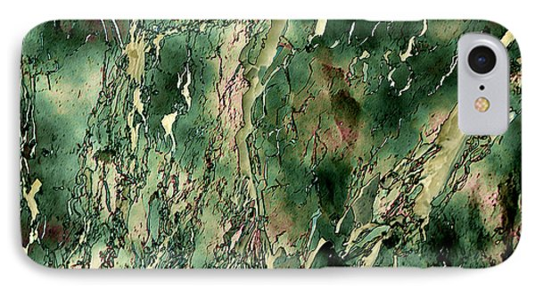 IPhone Case featuring the photograph Textured Abstraction by Liz  Alderdice
