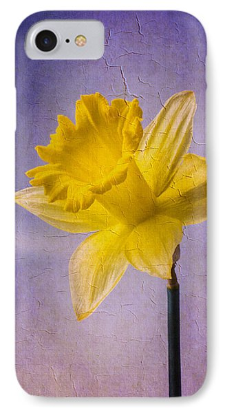 Textured Daffodil IPhone Case