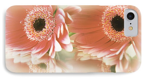 IPhone Case featuring the photograph Textured Floral Artwork by Eden Baed