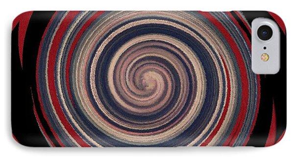 IPhone Case featuring the digital art Textured Matt Finish by Catherine Lott