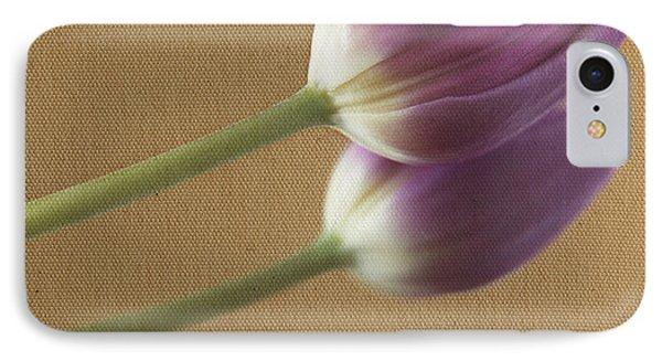 Textured Purpletulip IPhone Case