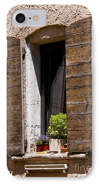 Textured Shutters Phone Case by Bob Phillips