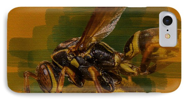 reputable site 9992f 5ec4b Yellow Jacket Bee iPhone 7 Cases   Fine Art America