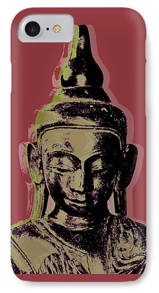 Thai Buddha #1 IPhone Case by Jean luc Comperat