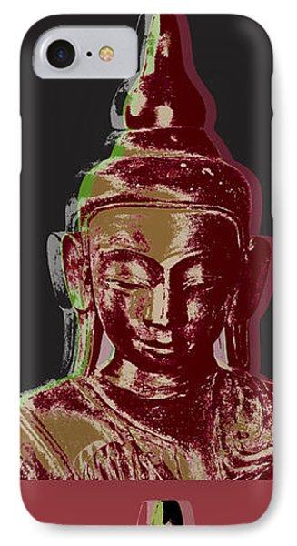 Thai Buddha IPhone Case by Jean luc Comperat