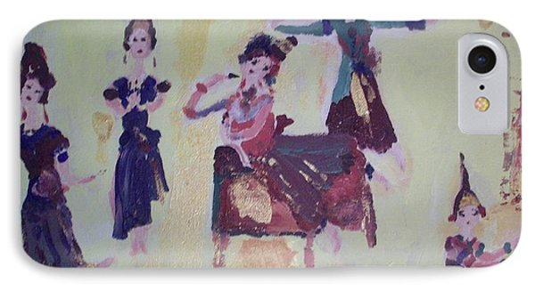 Thai Dance IPhone Case by Judith Desrosiers