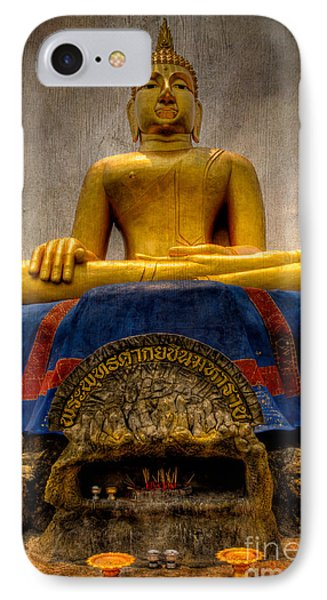 Thai Golden Buddha IPhone Case by Adrian Evans