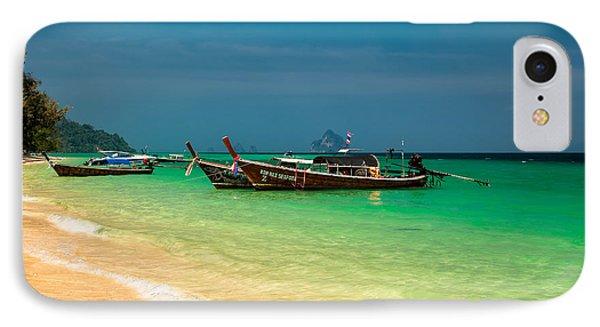 Thai Longboats Phone Case by Adrian Evans