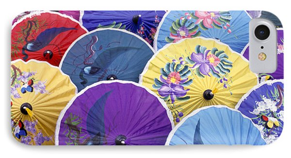 Thailand. Chiang Mai Region. Umbrellas Phone Case by Anonymous
