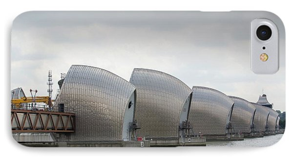 Thames Barrier IPhone Case