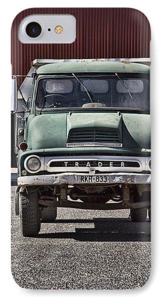 Thames Trader Vintage Truck Phone Case by Douglas Barnard