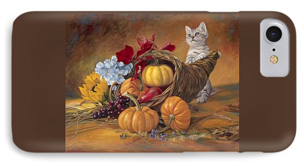 Thankful IPhone Case by Lucie Bilodeau