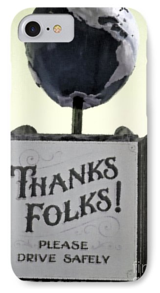 Thanks Folks IPhone Case by Beth Saffer