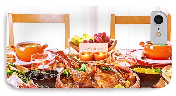 Thanksgiving Day Dinner IPhone Case
