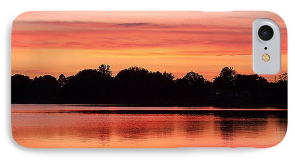 Thanksgiving Evening 001 IPhone Case by Chris Mercer