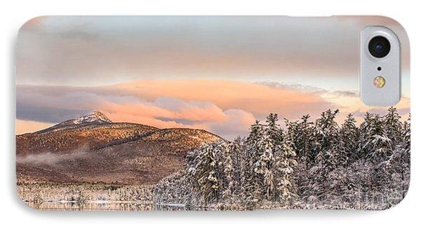 Thanksgiving Sunrise On Mt Chocorua IPhone Case by Scott Thorp