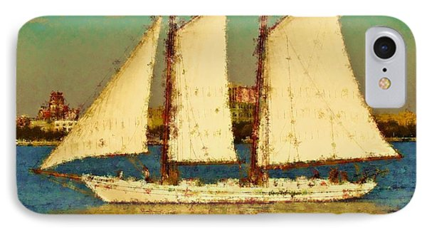 That Ship Phone Case by Alice Gipson