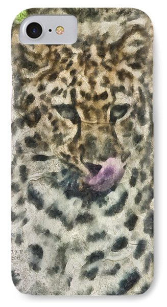 That Was Delicious Phone Case by Trish Tritz