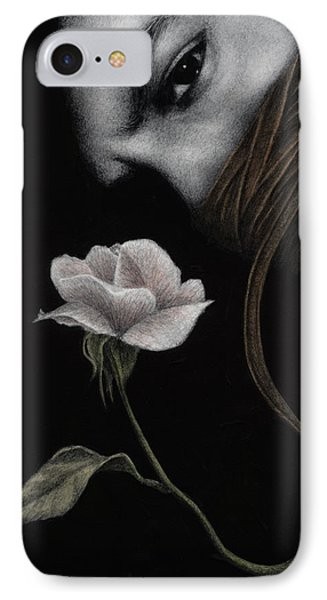 IPhone Case featuring the painting That Which Will Not Be Silenced by Pat Erickson