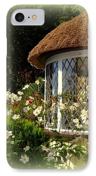 Thatched Cottage Window IPhone Case