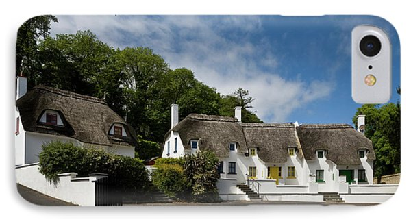 Thatched Cottages Near Dunmore IPhone Case