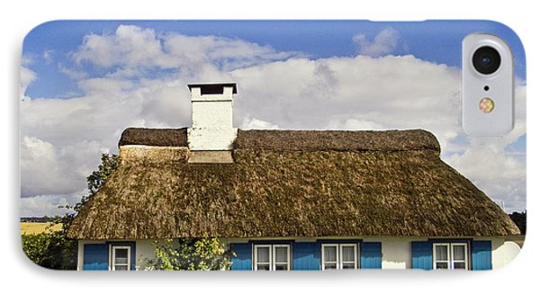 Thatched Country House Phone Case by Heiko Koehrer-Wagner