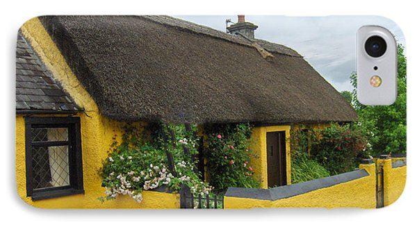 Thatched House Ireland IPhone Case by Brenda Brown