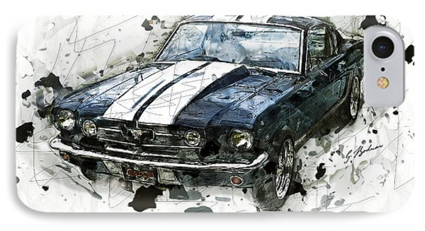 The 1965 Shelby Gto-350 #3 IPhone Case by Gary Bodnar