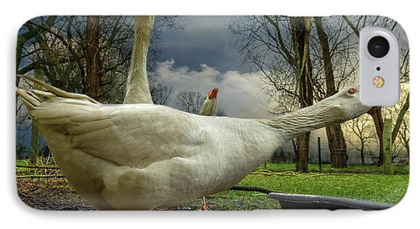 The 3 Geese IPhone Case
