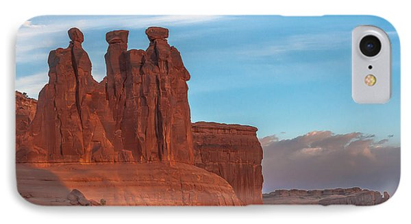 The 3 Gossips  IPhone Case by Tim Bryan