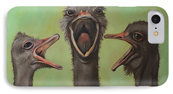 The 3 Tenors IPhone Case by Leah Saulnier The Painting Maniac