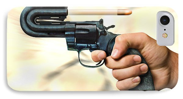 The 44 Magnum Justifier IPhone Case by Mike McGlothlen