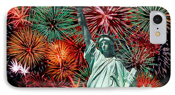 Independance Day IPhone Case by Anthony Sacco