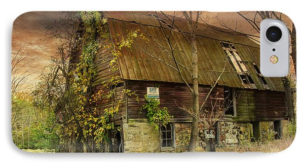 The Abandoned Barn IPhone Case by Debra Fedchin