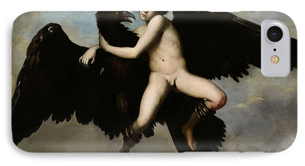 The Abduction Of Ganymede IPhone Case by Tuscan Painter
