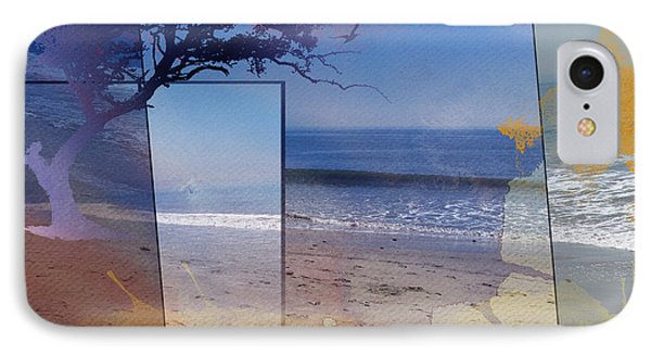 The Abstract Beach Phone Case by Bedros Awak